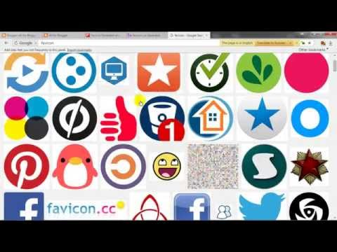 How to change favicon in blogger or blogspot