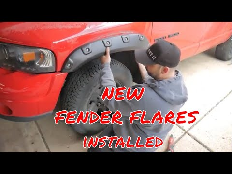 How to install Pocket Style Fender Flares on a Dodge Ram and review