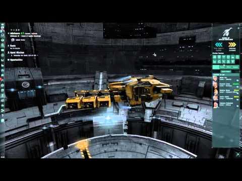 Eve Online Gameplay Pt.1