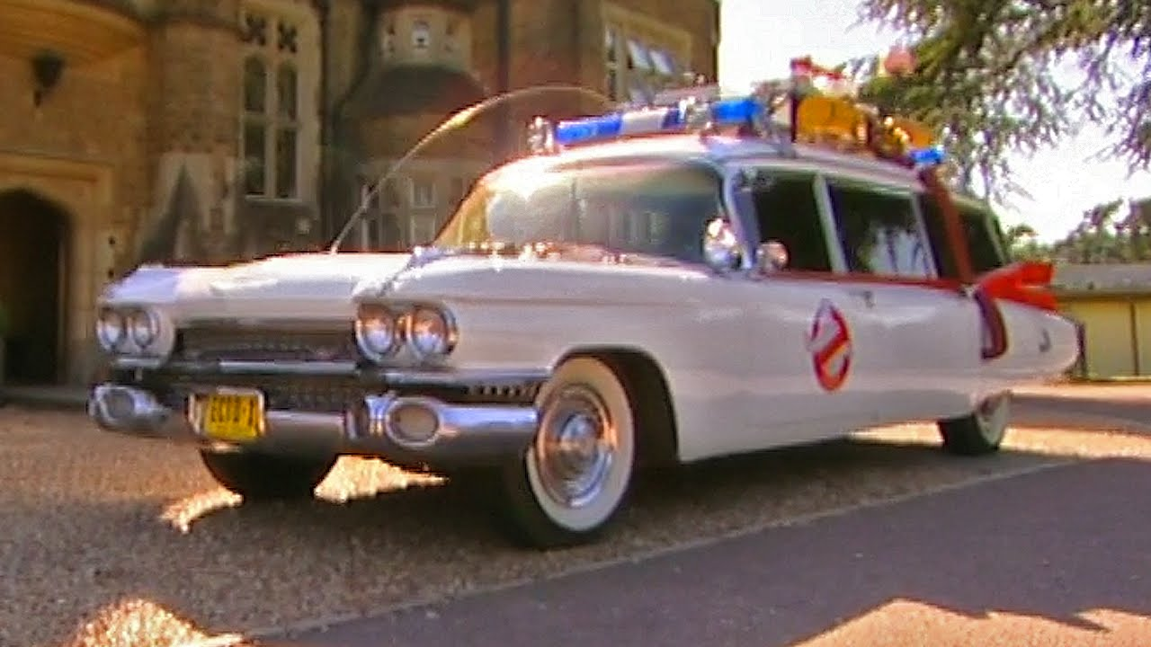driving the ghostbusters ecto 1 tbt fifth gear youtube. Black Bedroom Furniture Sets. Home Design Ideas