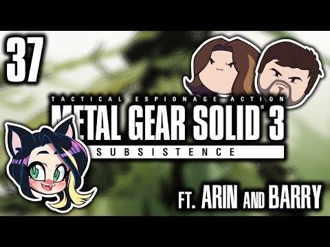 ►Metal Gear Solid 3: Subsistence►THE DEAD►With Egoraptor & Barry►PART 37 - Kitty Kat Gaming