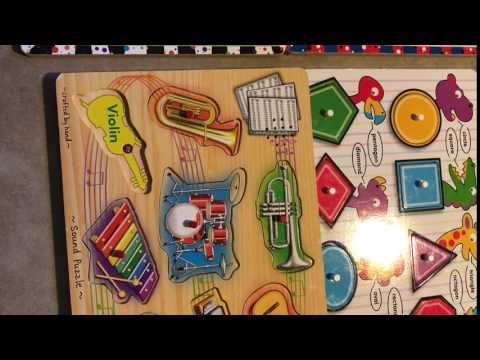 Melissa and Doug Musical Puzzle