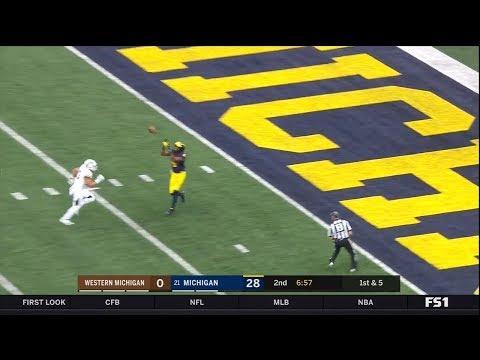 2018 Michigan Football Highlights v WMU