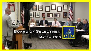 Pembroke Board of Selectmen, Chairman Matt Furlong and billboard proposal.