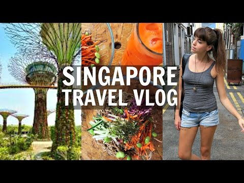 SINGAPORE VEGAN TRAVEL VLOG
