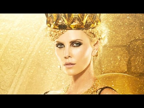 Charlize Theron: The Huntsman - GOLD Smokey Eyes Tutorial