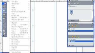 Гарнитура и кегль шрифта в QuarkXpress 8 (28/55)