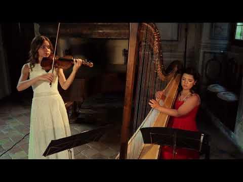 A. Vivaldi - Sonata in A minor, Op. 2 n. 12, RV 32 (E. Valiulina, Violin | E. Netzer, Harp)
