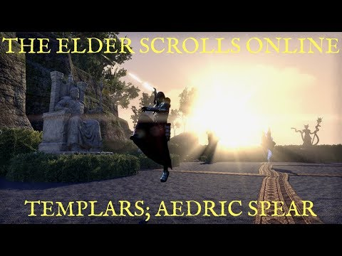 The Elder Scrolls Online Let's Talk; Aedric Spear (Templar Skill Tree)
