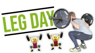 The Best Of Both Worlds Leg Workout: Strength & Mass For Women & Men #lltv