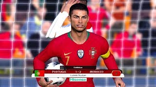 Portugal vs Morocco | Group B | FIFA World Cup Russia 2018 Gameplay