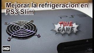 Mejorar la refrigeración de nuestra PS3 slim