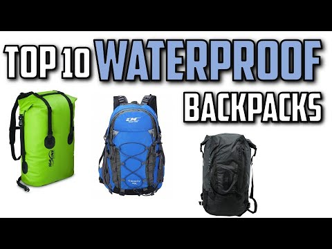818969f62f8f 10 Best Waterproof Backpacks In 2019 - YouTube