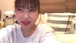 프로듀스48에 출연했던 나카니시 치요리(中西 智代梨)의 2018년 12월 8...