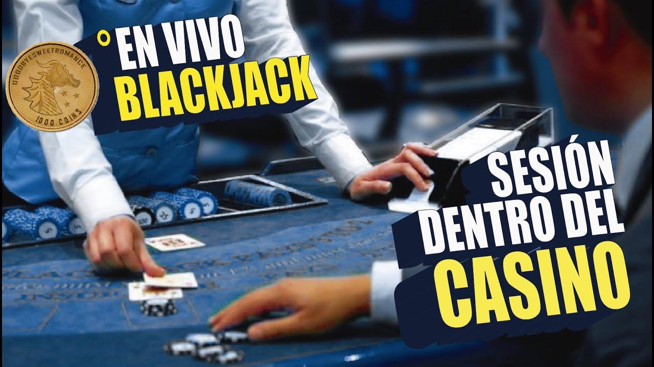 GRABAMOS BLACKJACK DENTRO DEL CASINO CON CRUPIER EN VIVO