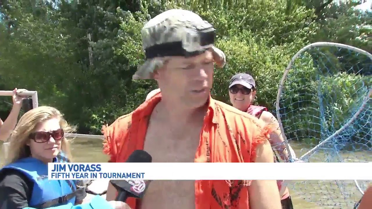 Anglers at Redneck Fishing Tournament take on Asian carp