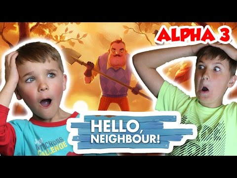Playing For The First Time Hello Neighbor Alpha 3 | We Are So Scared !