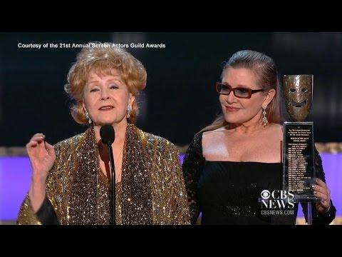 Debbie Reynolds wins Screen Actors Guild Lifetime Achievement award
