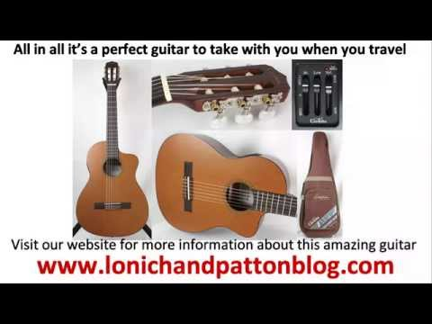 Cordoba La Playa Travel Acoustic Electrical Classical Guitar Review