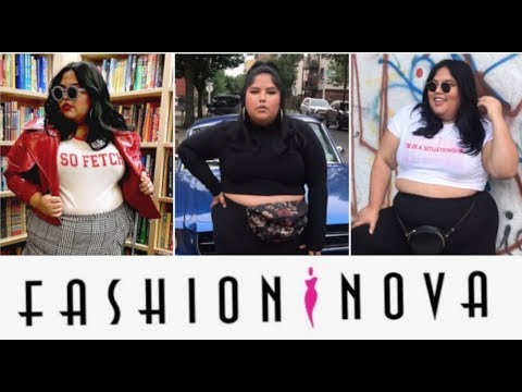 acbe94cafc I wore Fashion Nova s plus-size clothes for a week - YouTube