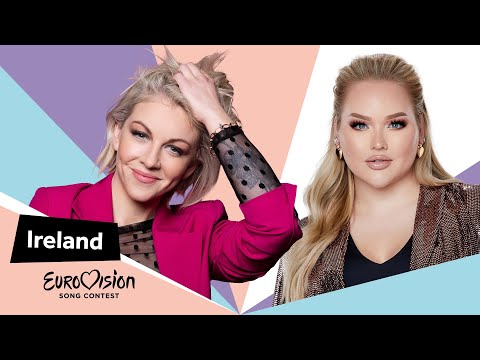 Eurovisioncalls Lesley Roy - Ireland 🇮🇪 with NikkieTutorials