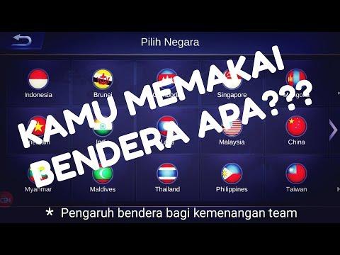 KENAPA PLAYER INDONESIA MEMAKAI BENDERA NEGARA LAIN? - MOBILE LEGENDS