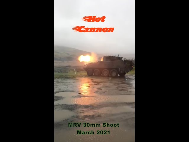 Mowag MRV 30mm Shoot - Irish Cavalry Corps