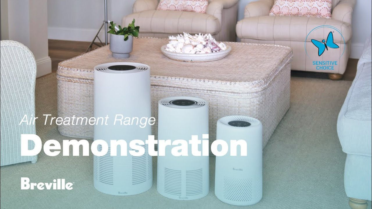How To Use Breville Air Purifier The Easy Air The Smart Air And The Smart Air Plus Youtube