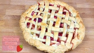Strawberry Rhubarb Pie - Recipe [delicious Food Adventures]