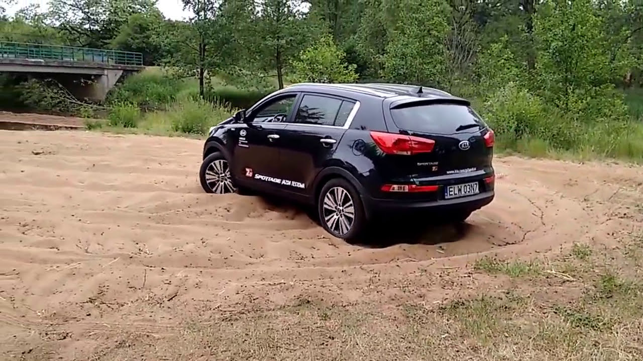 Kia Sportage 2.0 4x4 AWD AT Sand Off Road   YouTube