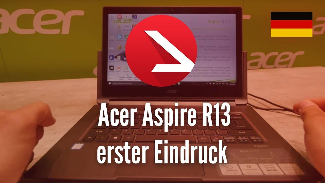Acer Aspire R13 erster Eindruck [4K UHD]