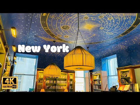 [4K]🇺🇸NYC Winter Walk | Albertine French Bookstore & Museum Mile on Fifth Ave | Jan 7, 2021