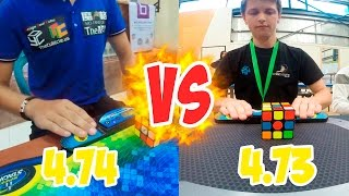 Feliks Zemdegs(4.73)  VS  Mats Valk(4.74)