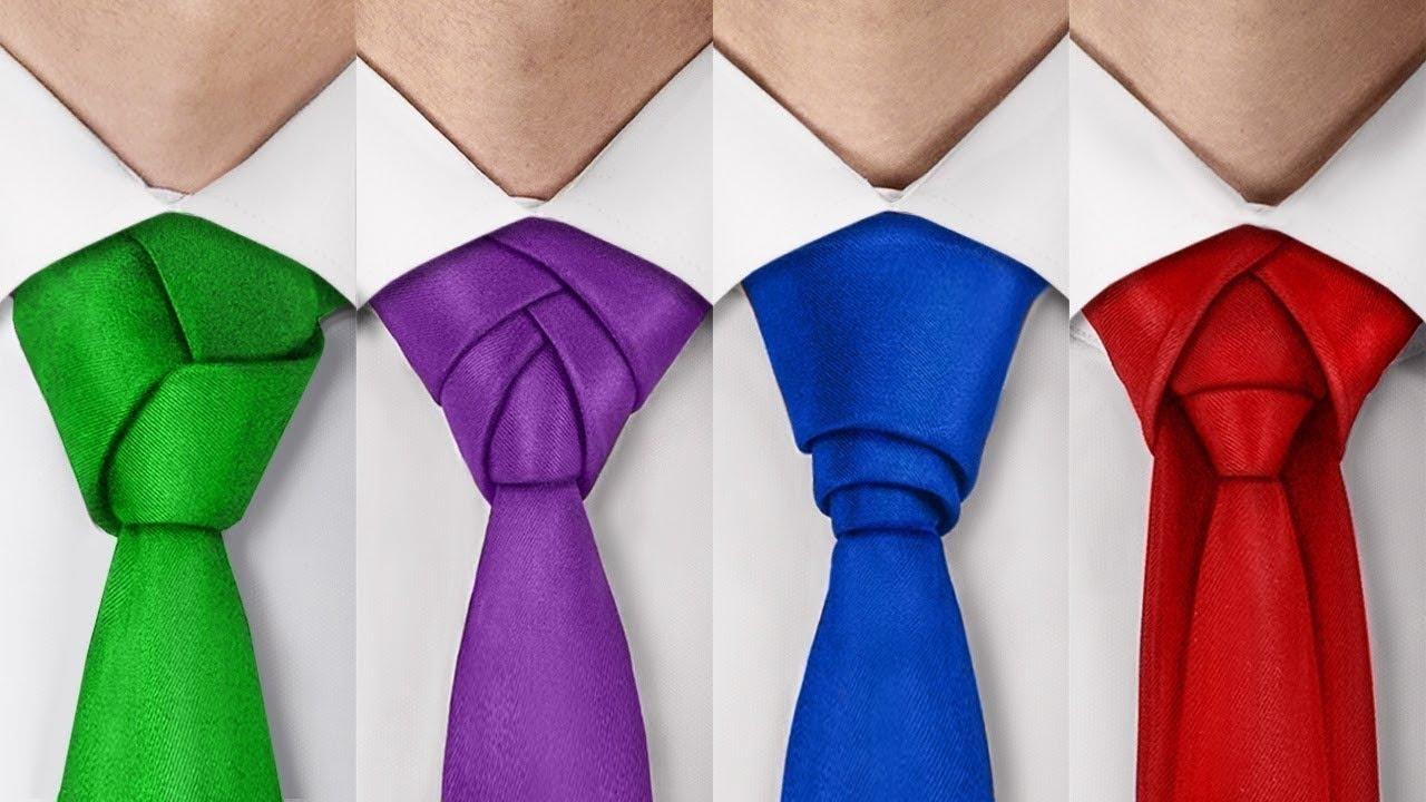 4 طُرق رائعة لربط رابطة العنق
