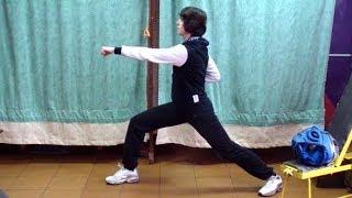 Кунг-фу: урок 3 (передний выпад в гун-бу)