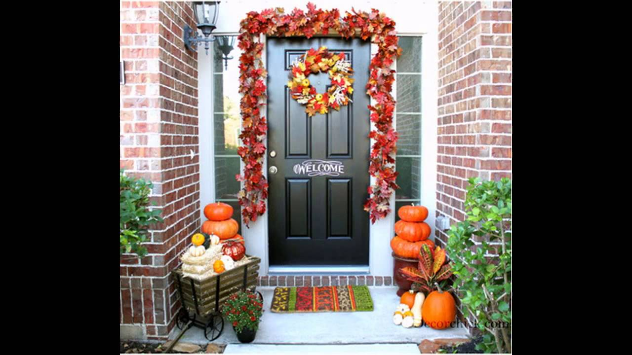 Summer door decorations ideas - YouTube