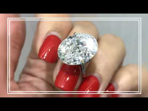 10 carat oval shape diamond