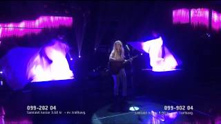 4. Lisa Miskovsky - Why Start A Fire (Melodifestivalen 2012 Final) 720p HD