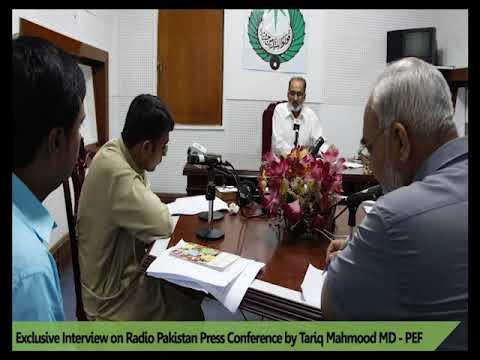 Managing Director interview on Radio Pakistan