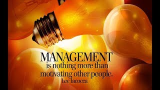 Quotes Motivation - Management is noting more than motivation other people - Easy Ideas