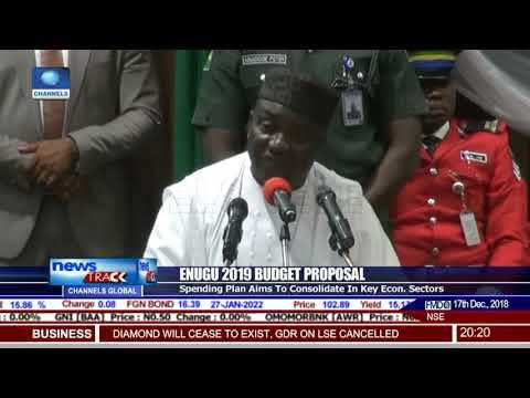 Gov Ugwuanyi Presents N109.19bn Budget Estimate For 2019