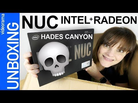 Intel Hades Canyon NUC unboxing y despiece -con RADEON RX VE