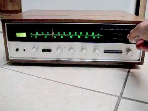How work sound Vintage Sansui 2000A receiver amplifier made in Japan