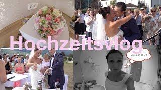 Hochzeitsvlog # 2   So war unsere TRAUMHOCHZEIT !!!!