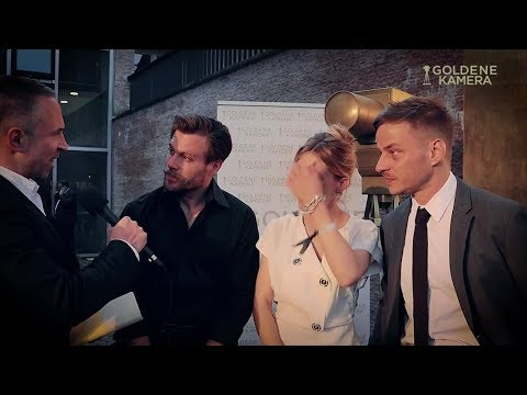 """Berlin Falling""׃ Ken Duken, Marisa Leonie Bach and Tom Wlaschiha in Interview1"