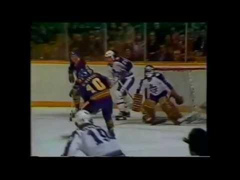 Craig Ramsay Goal vs. Toronto 12/13/80