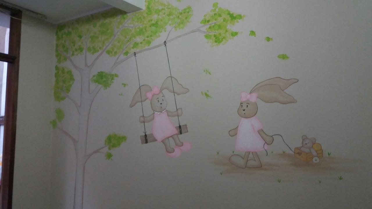 Decoracion de cuartos peque os para ni os recien nacidos for Ideas para pintar habitacion bebe