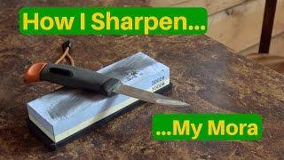 How I Sharpen My Mora.