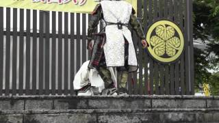 「戦国殺陣チーム~京都 Miyako~」による「忠臣・湯浅五助~義~」の甲...