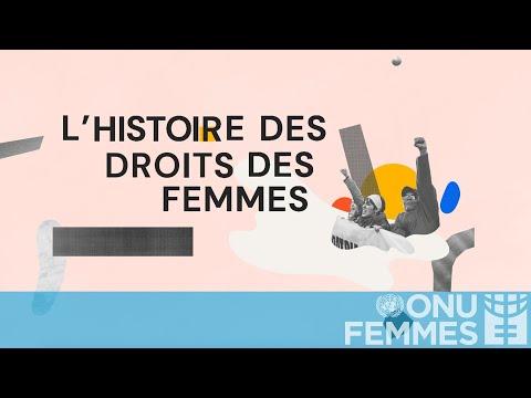Une histoire mondiale des droits des femmes, en 3 minutes  - 16:01-2020 / 3 / 12